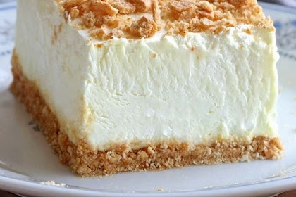 No Bake Classic Woolworth Cheesecake