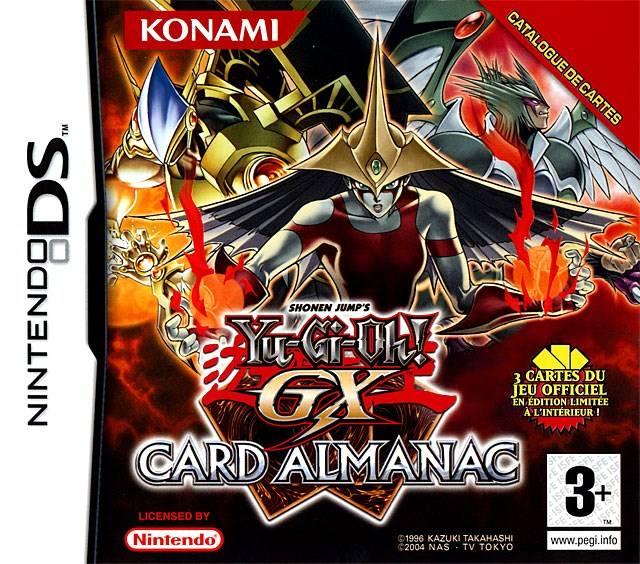 Descargar Yu-Gi-Oh! GX Card Almanac ds español mediafire y mega