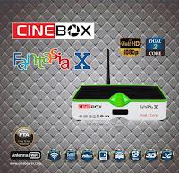 Colocar CS Cinebox%2BFantasia%2BX CINEBOX FANTASIA X HD Atualização   18/03/2016 comprar cs