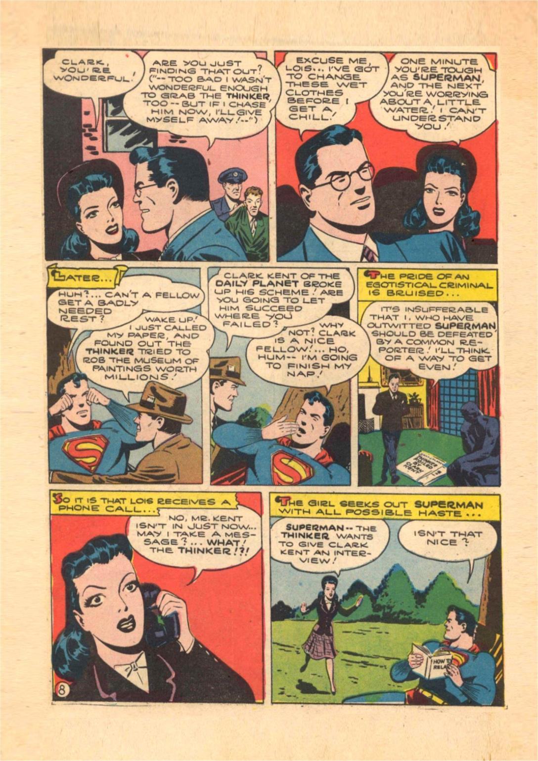 Read online Action Comics (1938) comic -  Issue #70 - 10