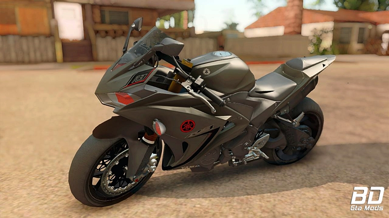 Download, mod, moto, Yamaha, YZF R3 (R1 Mixed) ,GTA San Andreas