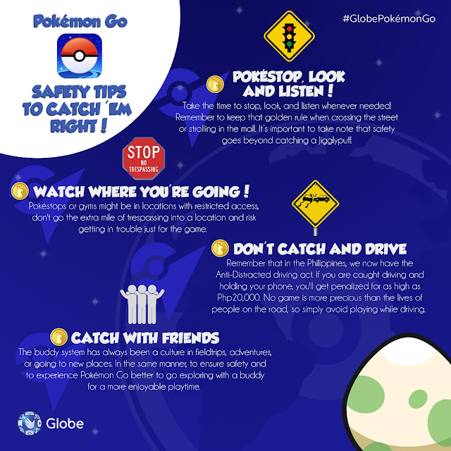Pokemon Go Safety Tips