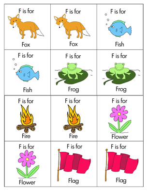 animals that start with the letter f glimmercat education introducing letter f 20456