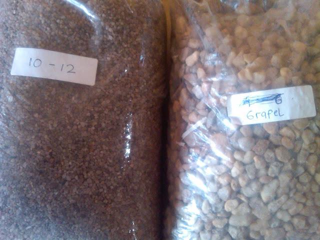 gravel silika mesh  6-8 kurang lebih  5 mm