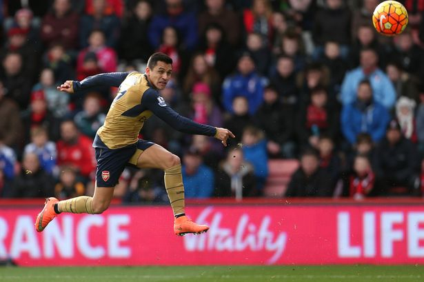 Arsenal star forward Alexis Sanchez set for huge pay rise