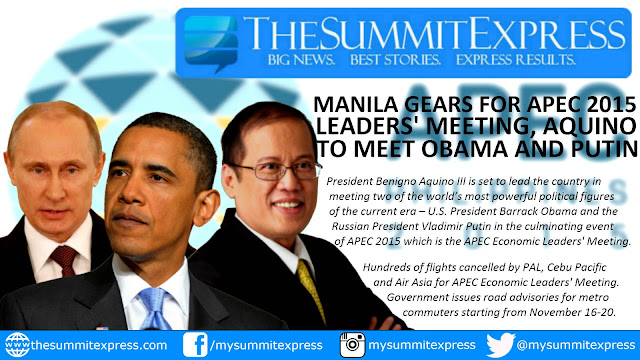 PNoy to meet Putin, Obama on APEC 2015