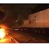 Grupo de caminhoneiros 'bloqueia' a PR 445, no Paraná
