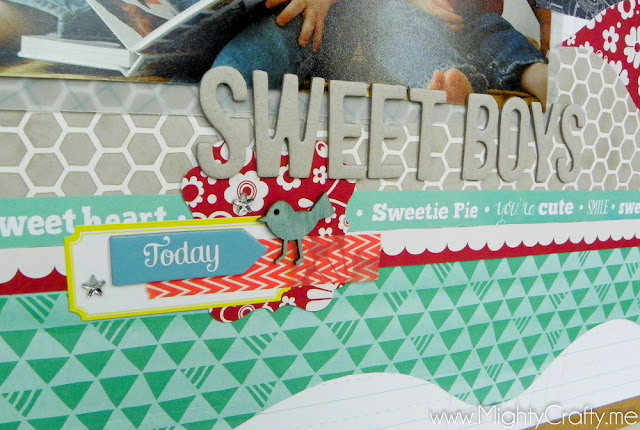 Studio Calico Block Party Layout - Jan. 2013 - by MightyCrafty.me