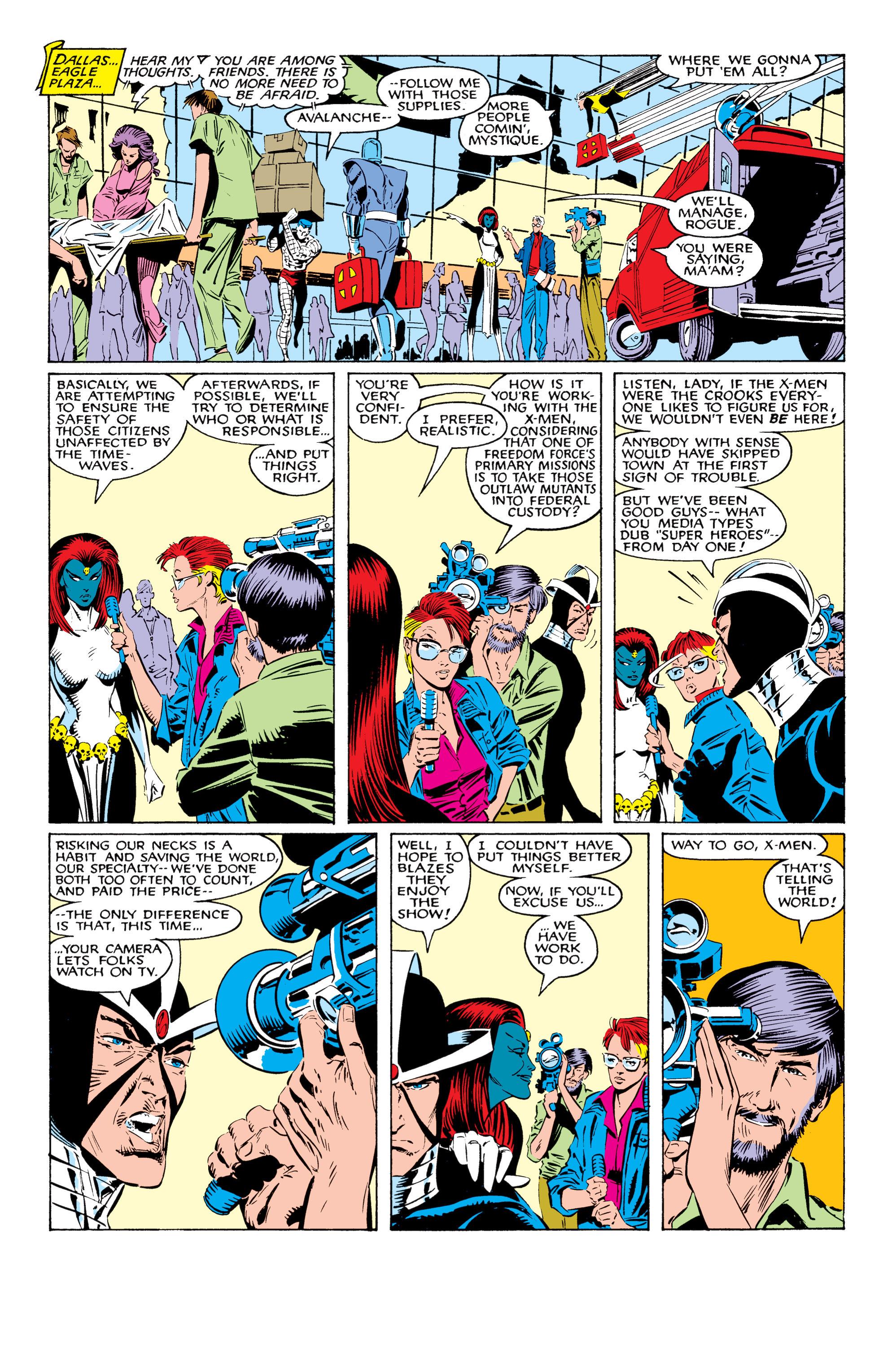 Read online Uncanny X-Men (1963) comic -  Issue #226 - 20
