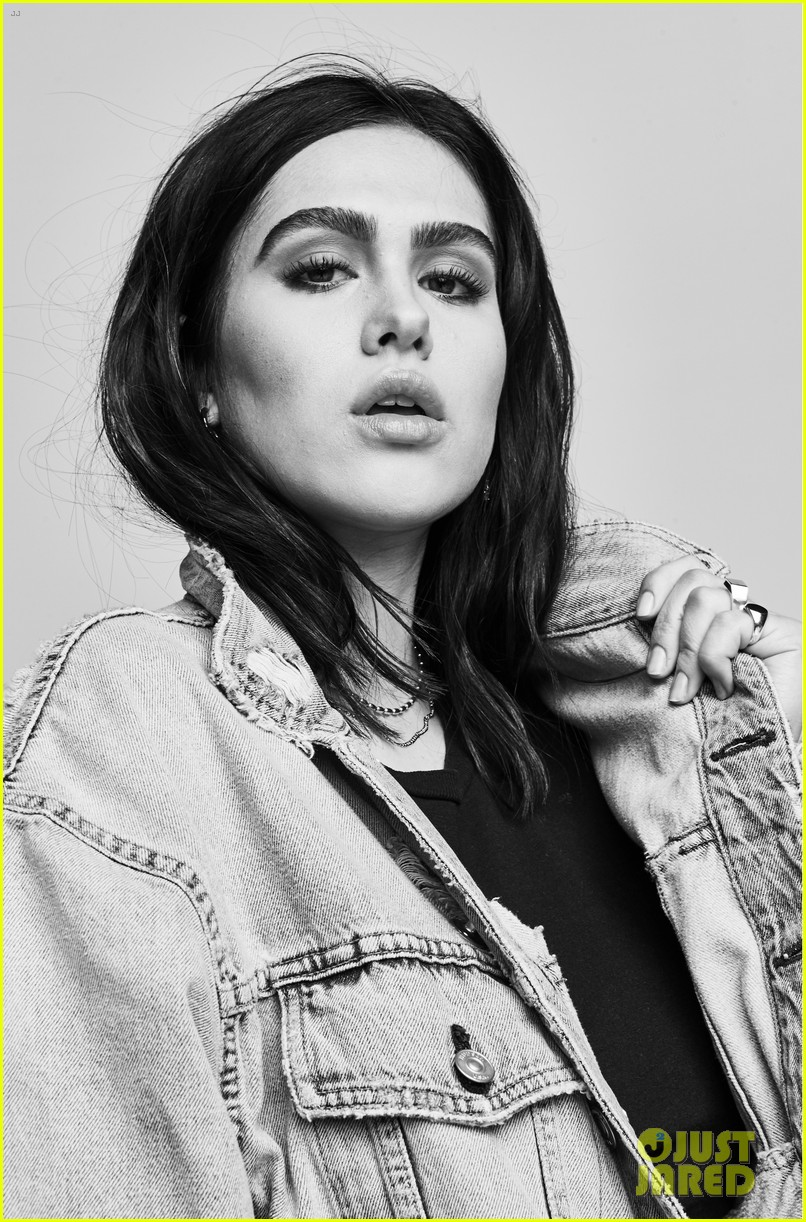 Amelia Gray Hamlin stars in Hudson Jeans spring-summer 2018 campaign
