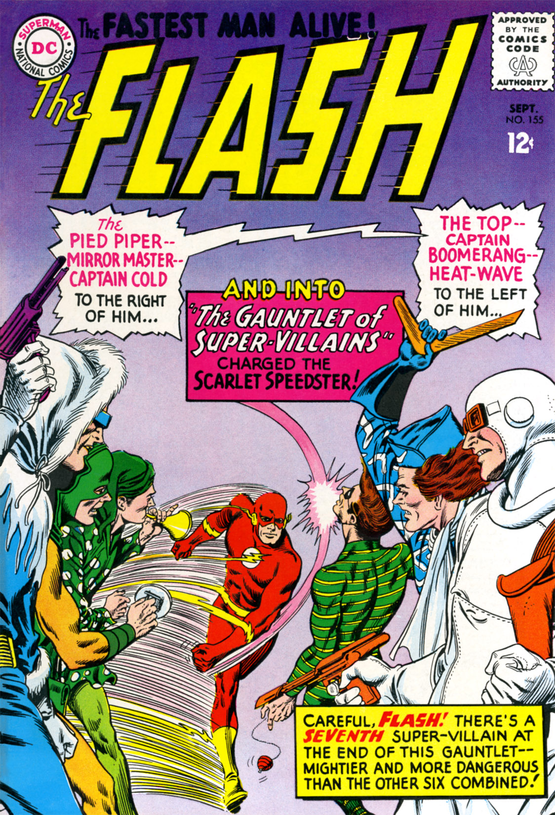 The Flash (1959) 155 Page 1