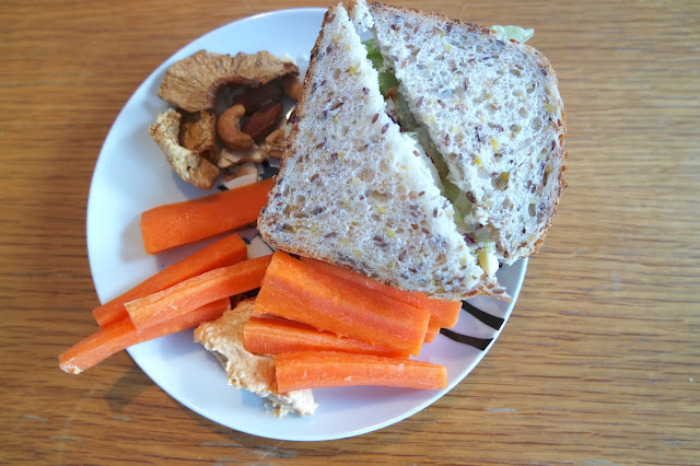Sugar Free Lunch - Chicken Salad Sandwich