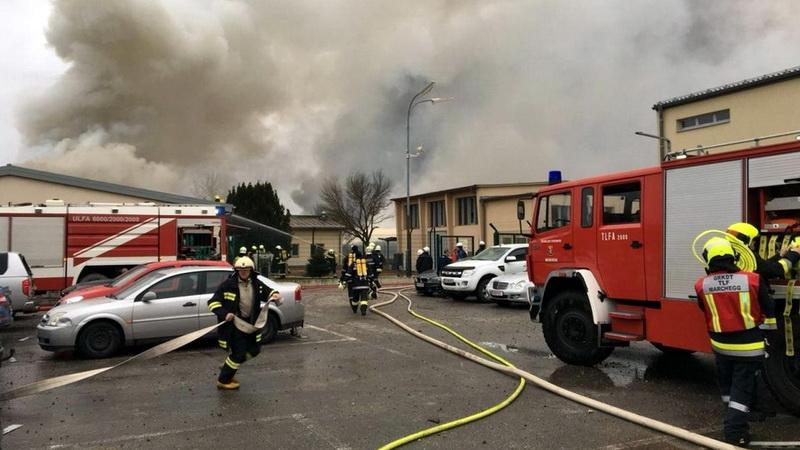 Αυστρία: Ισχυρή έκρηξη σε τερματικό σταθμό φυσικού αερίου