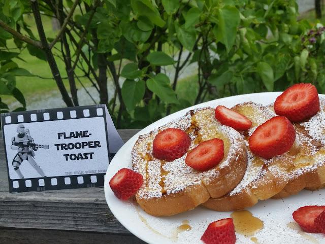 Flametrooper French Toast - Star Wars The Force Awakens Breakfast Food