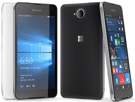 pilihan warna HP Microsoft Lumia 650