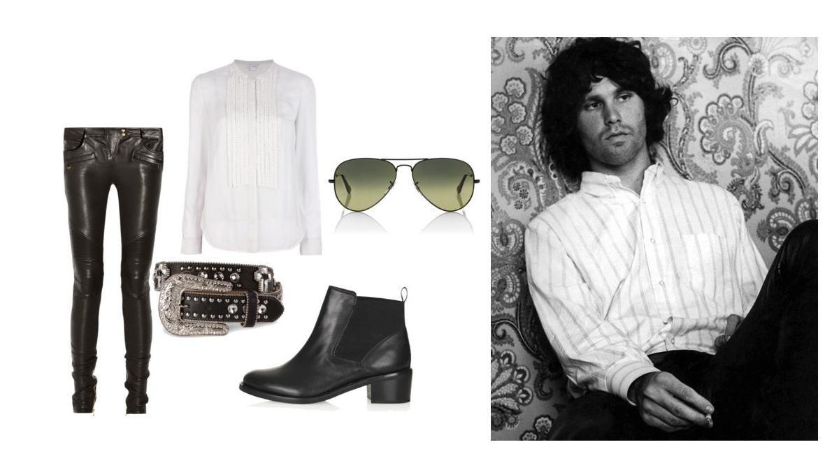 How to dress like jim morrison