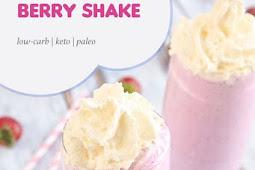Frozen Keto Berry Shake