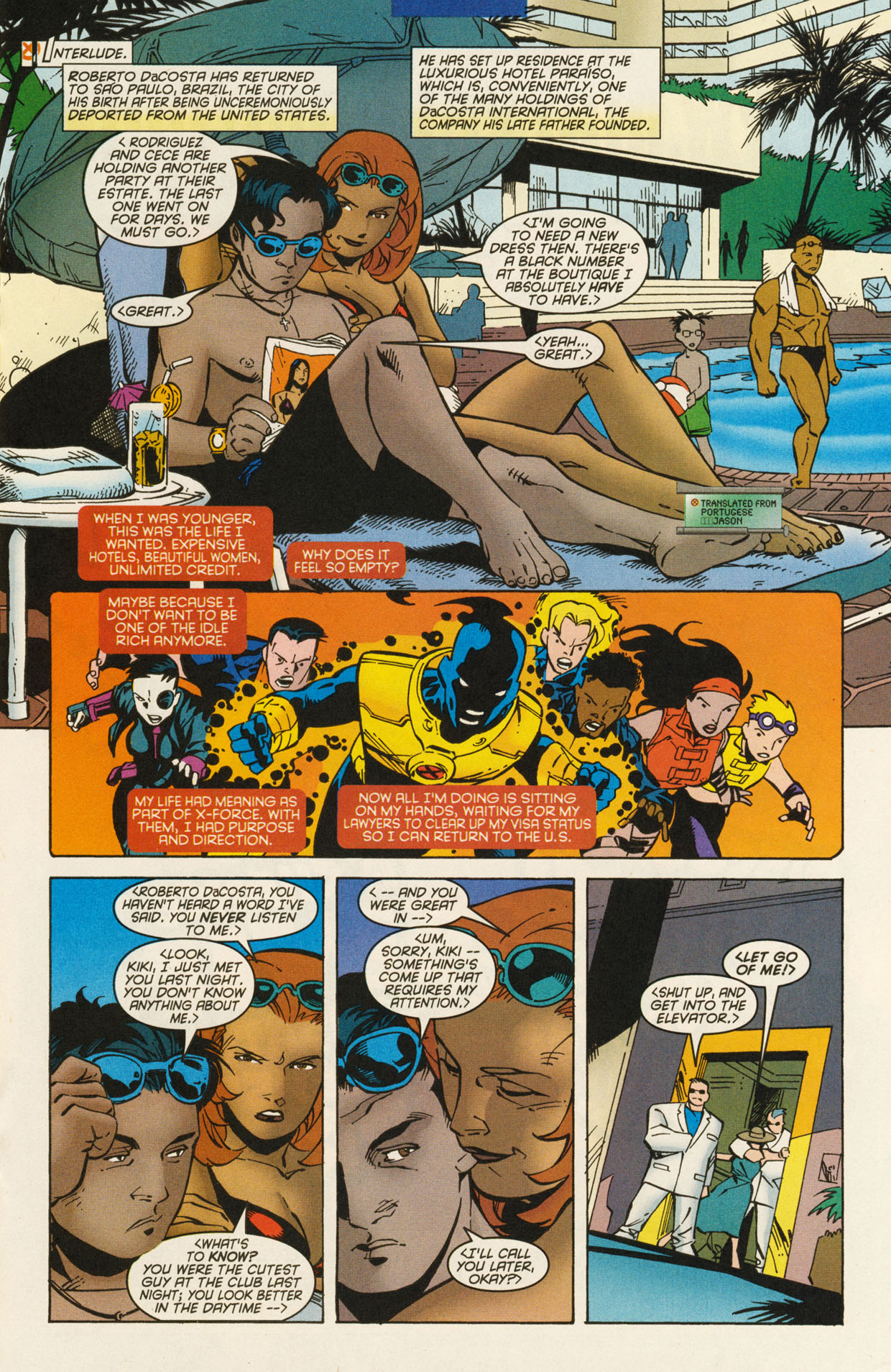 Read online X-Force (1991) comic -  Issue #94 - 17