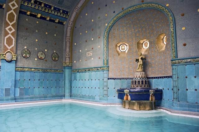 Gellért Baths, Budapest, Hongaria