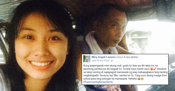 This daughter of a jeepney driver made a great post that will surely warm your heart.