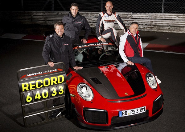Porsche 911 GT2 RS MR (Manthey Racing)