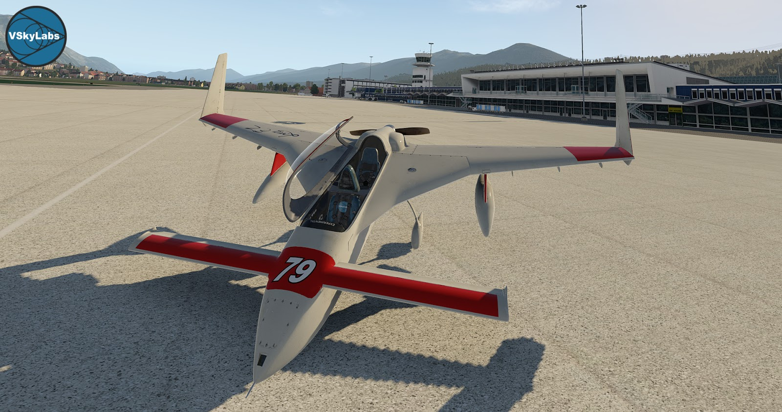 NEW RELEASE! The VSKYLABS Rutan LongEZ Project