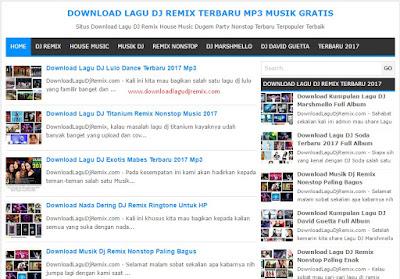 Situs Download Lagu DJ Remix