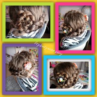 Kwiaty-włosy-warkocz-upiecie-fryzury-jak upiac-wlosy-fryzury-dla-dziewczynki
