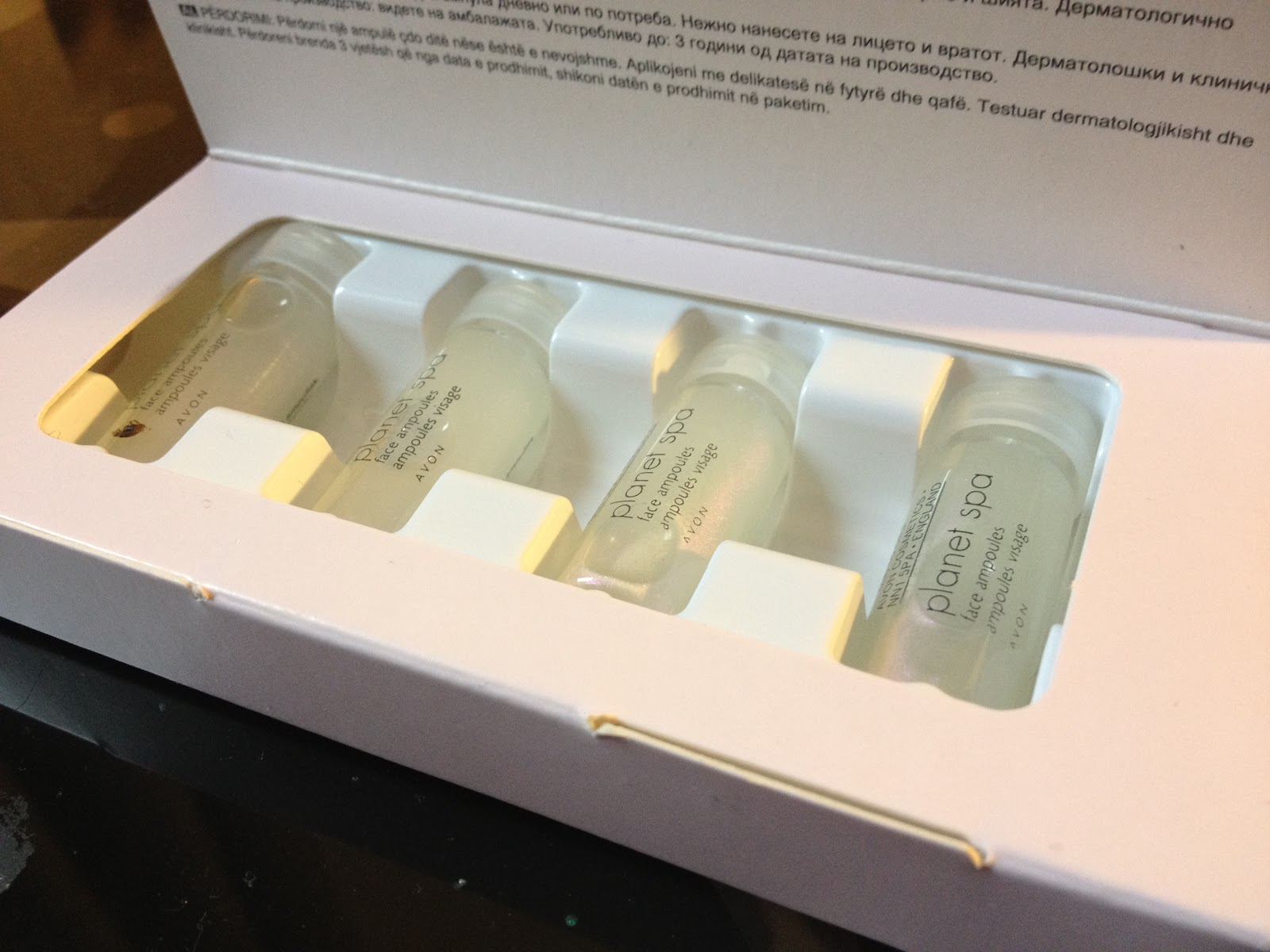 Dream and Love: Avon Planet Spa Japanese Sake and Rice Revitalising