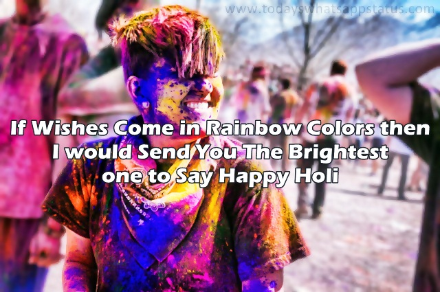 Happy Holi Images, Wishes, Quotes in English for Friends