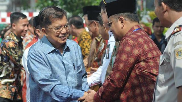 Tomy Winata Dukung Jokowi, JK Bicara Sumbangan Kampanye