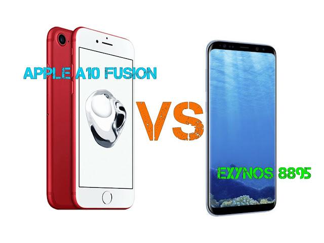 Exynos 8895 vs A10 Fusion Processor