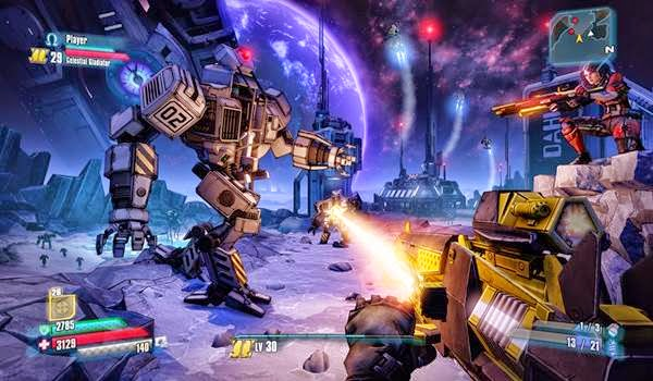 borderlands pre sequel how to start dlc