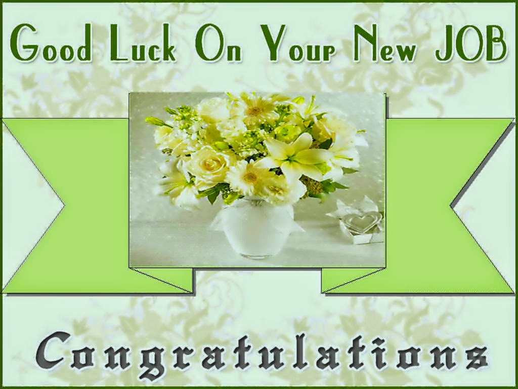congratulation and good luck images for new job
