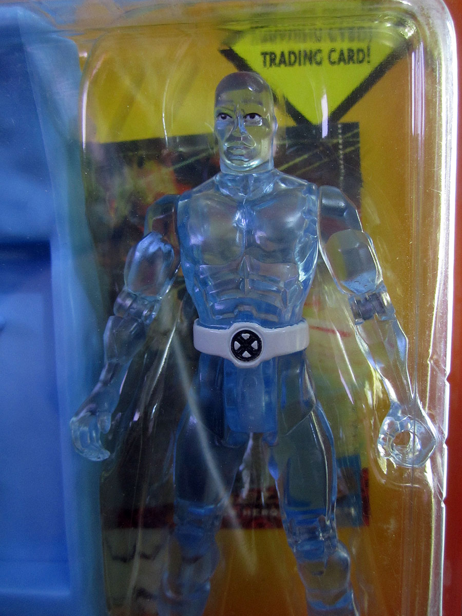 Marvel's X-men 1994 ToyBiz figure: Iceman with Super Ice ...