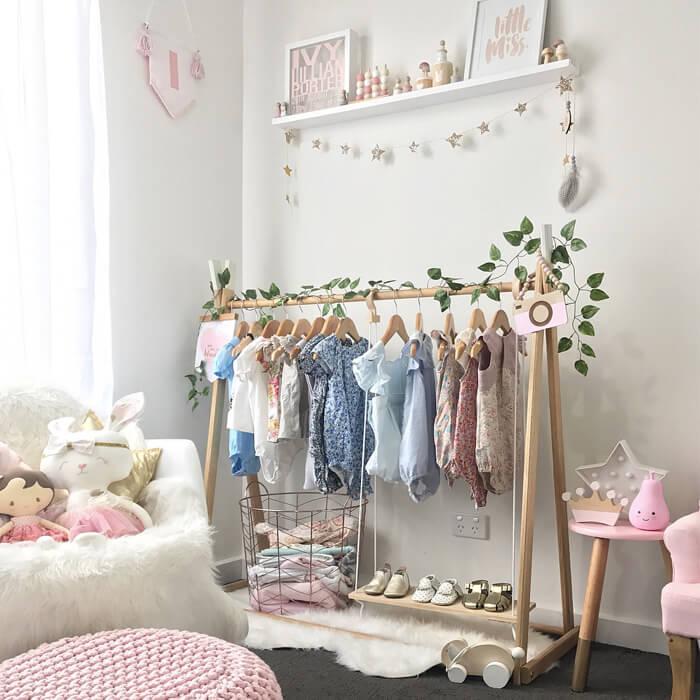 esempio di armadio per bambini
