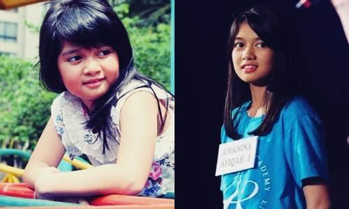 aktris sekaligus penyanyi asal Indonesia yang dikenal publik sebagai bocah imut bintang i Biodata Amanina Afiqah Si Bintang Iklan Oreo Jadi Member JKT48