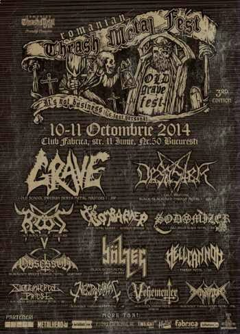 Old Grave Fest – Romanian Thrash Metal Fest octombrie 2014