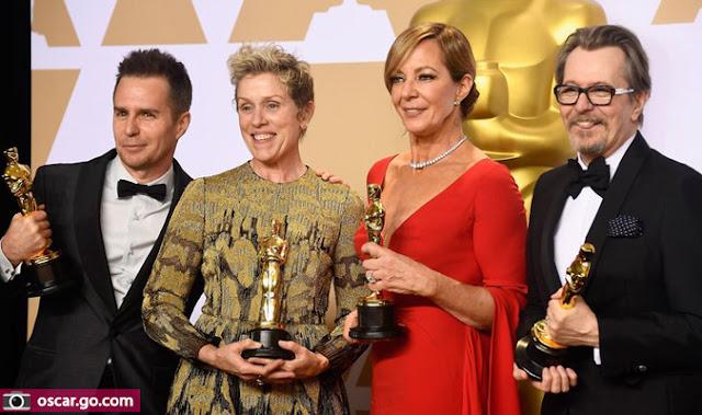 قائمة الفائزين بجائزة الاوسكار في دورته التسعين 2018