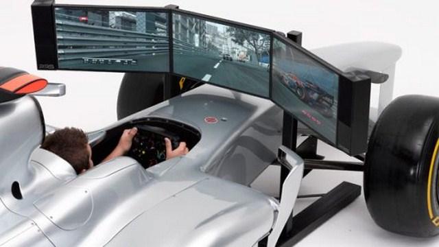 144 790 Full Size Formula 1 Racing Car Simulator Is A Luxury Toy