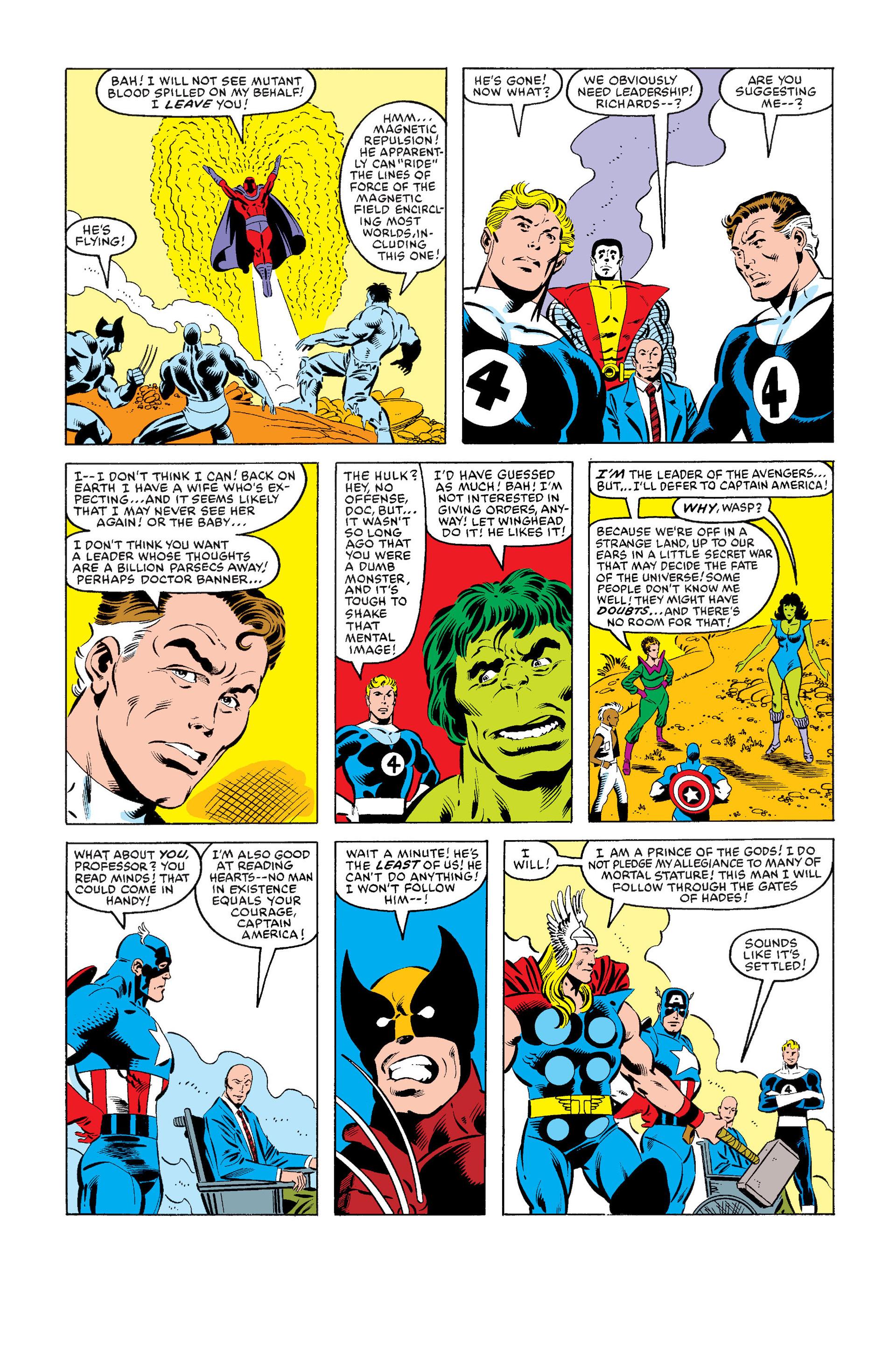 Read online Secret Wars (1985) comic -  Issue #1 - 17