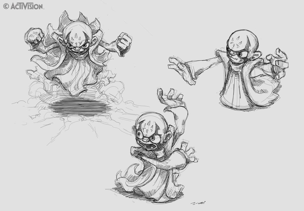 CrabFu Blog: SDCC Panel, Skylanders Character Development