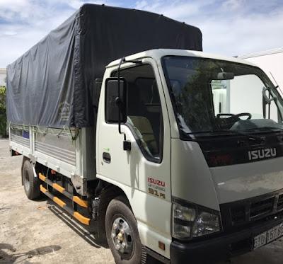 Xe tải thùng bạt Isuzu QKR55H