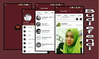 BBM MOD REDLINE 2.10.0.30 APK
