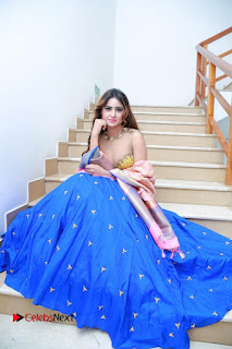 Actress Model Sony Charista Latest Pictures in Lehenga Choli  0078.JPG