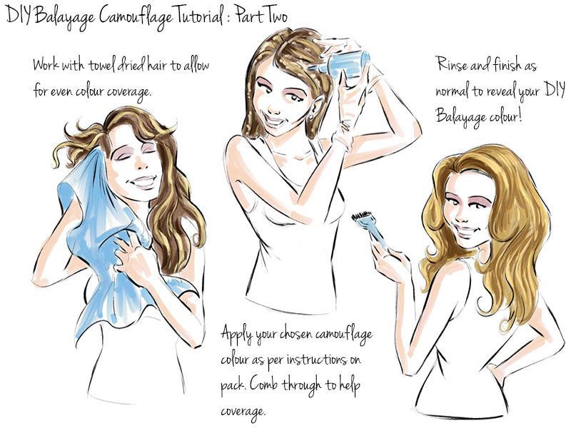 Diy balayage blonde hair poemsrom scott cornwall hair expert home balayage step by tutorial medium to light brown bases solutioingenieria Gallery