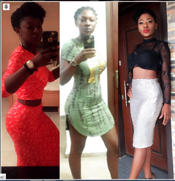 Actress Yvonne Jegede Flaunts Her Chest In This Simple Outfit