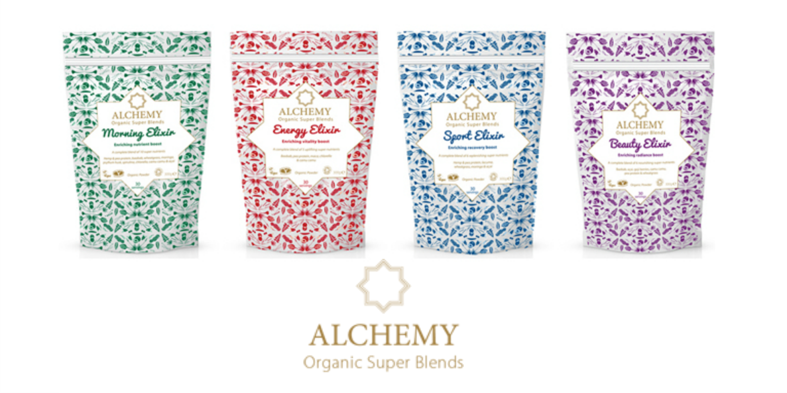 New in: Alchemy Organic super blends