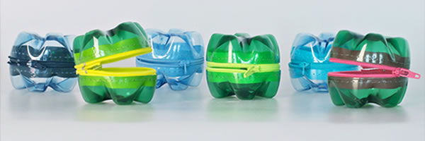 10 maneiras de reciclar garrafas pet: Porta treco