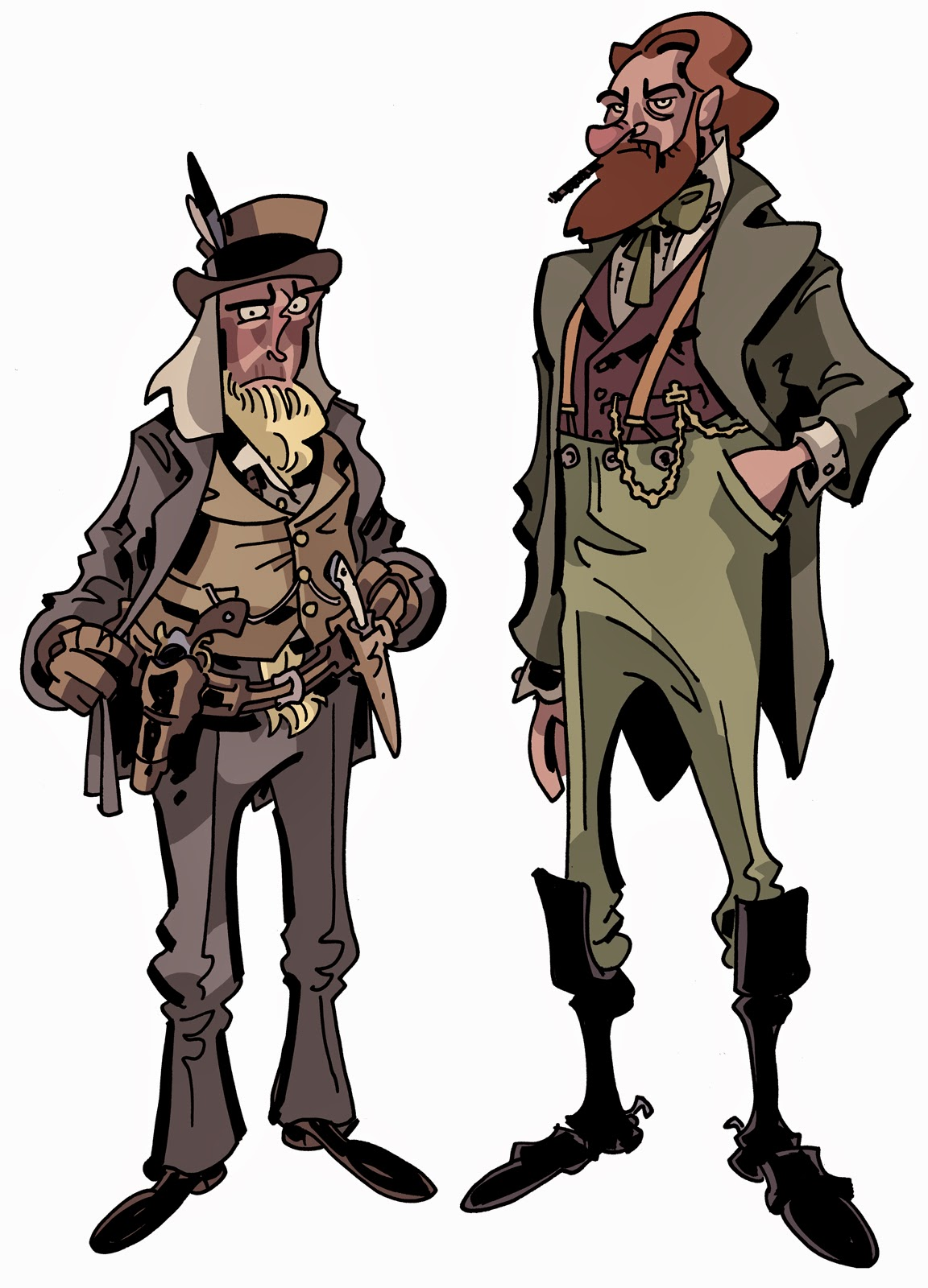 Characters Of The Wild West